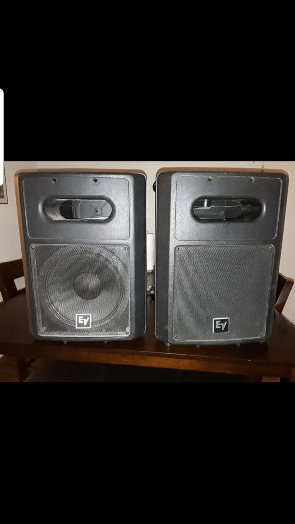 EV Electro Voice Dual Amp Subwoofer and Passive Speakers for Sale in Mesa,  AZ - OfferUp