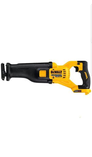 DEWALT DCS388B flexible 60V MAX* Brushless Reciprocating saw bare tool (battery no included) for Sale in Upper Marlboro, MD