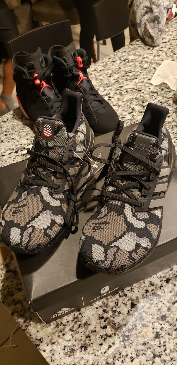 93a0fb4b0 Adidas x Bape Ultra Boost 4.0 Bape Camo Black for Sale in Glendale ...