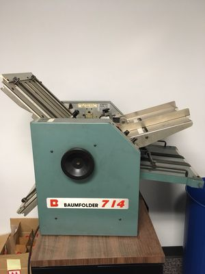 Paper folding machine for Sale in Pittsburgh, PA