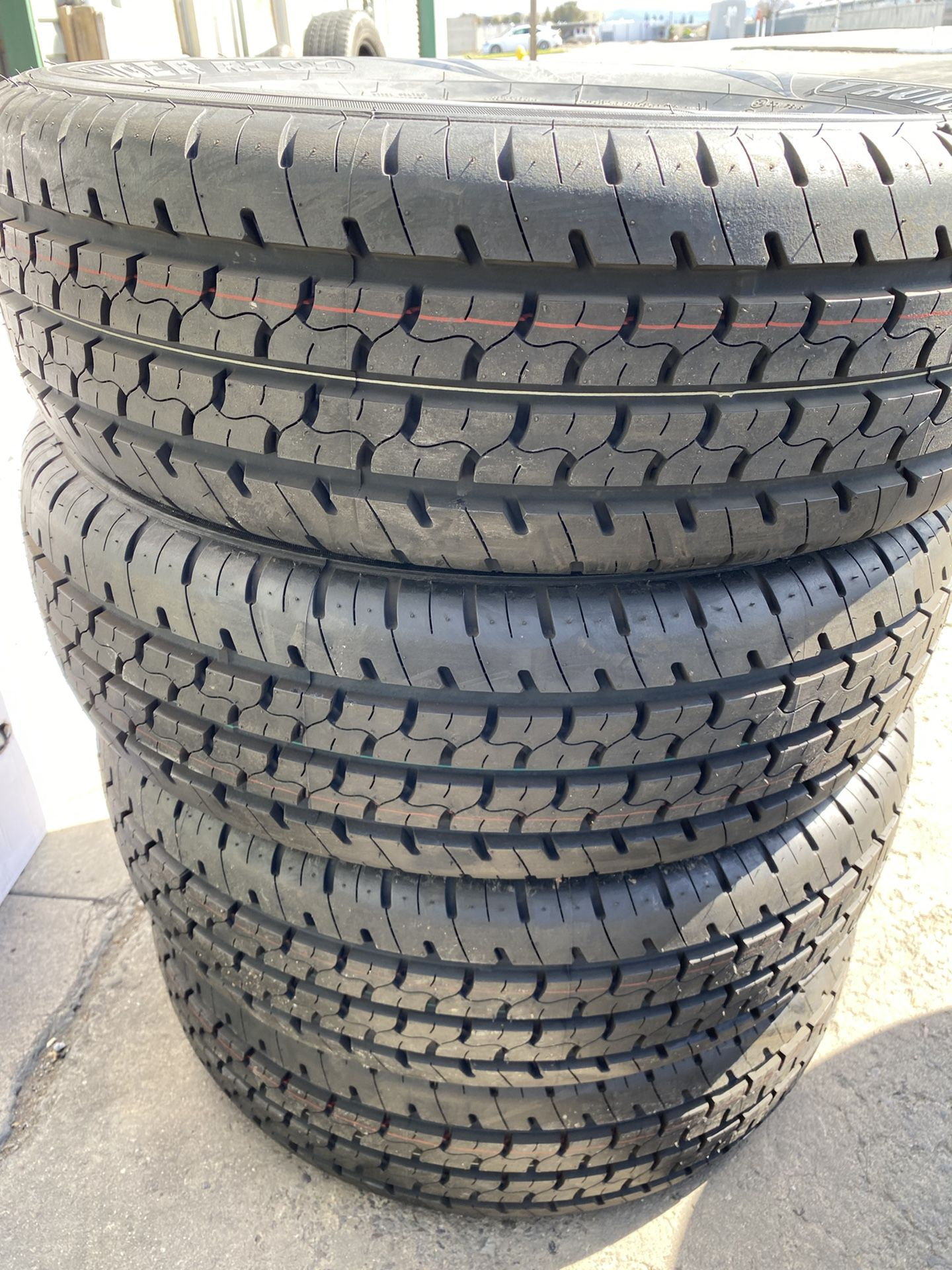 27x8.5R14 8 Ply 4 New Tires