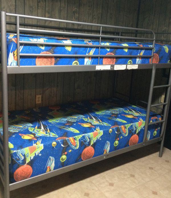 Ikea Svarta Bunk Bed With Mattresses For Sale In Woodbridge Va