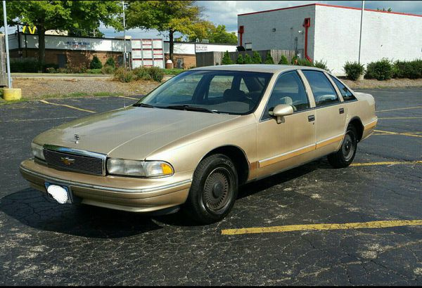 Prime 1994 Chevy Caprice For Sale In Elgin Il Offerup Wiring 101 Capemaxxcnl