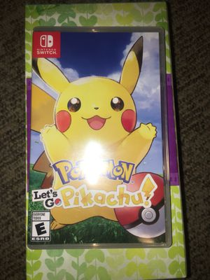 Pokémon let's go Nintendo switch for Sale in Lake Ridge, VA