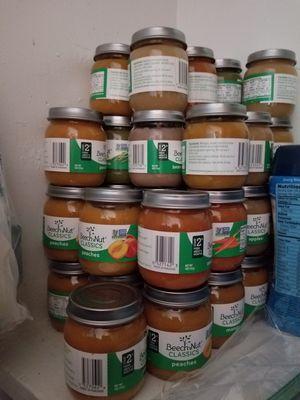 Baby food 215jars beechnut & 8 gerber cereals for Sale in Manassas, VA