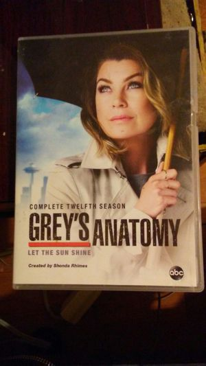 Grey's Anatomy complete 12th season DVD for Sale in Fort Worth, TX