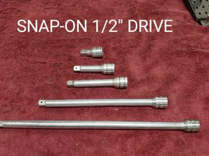 Photo Snap-on Tools 1/2 Drive 5 Piece extension set