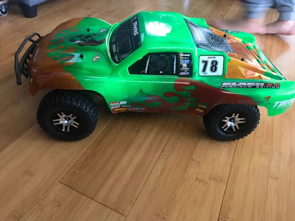 Brand new custom painted traxxas slash body  TRUCK NOT INCLUDED  for Sale  in Union City, CA - OfferUp