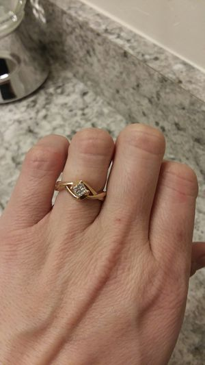 Rose Gold diamond ring for Sale in Montezuma, CO