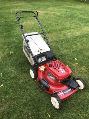 Toro Lawn Mower Self Propelled With Bag Run And Cut Good For In Streamwood