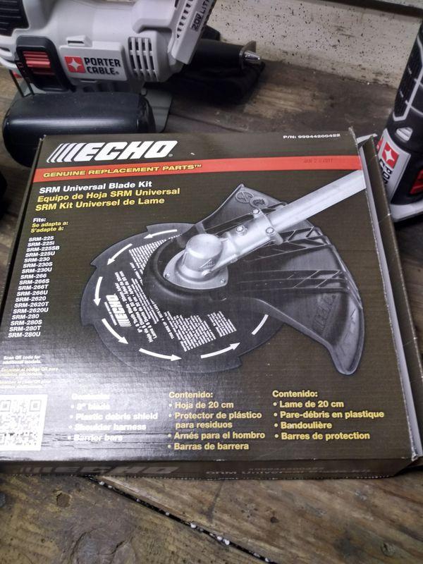echo srm universal blade kit manual