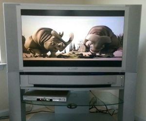 """PACKAGE DEAL: 42"""" Panasonic Projection Screen TV for Sale in Ashburn, VA"""