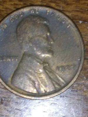 Photo 1927 wheat Lincoln penny