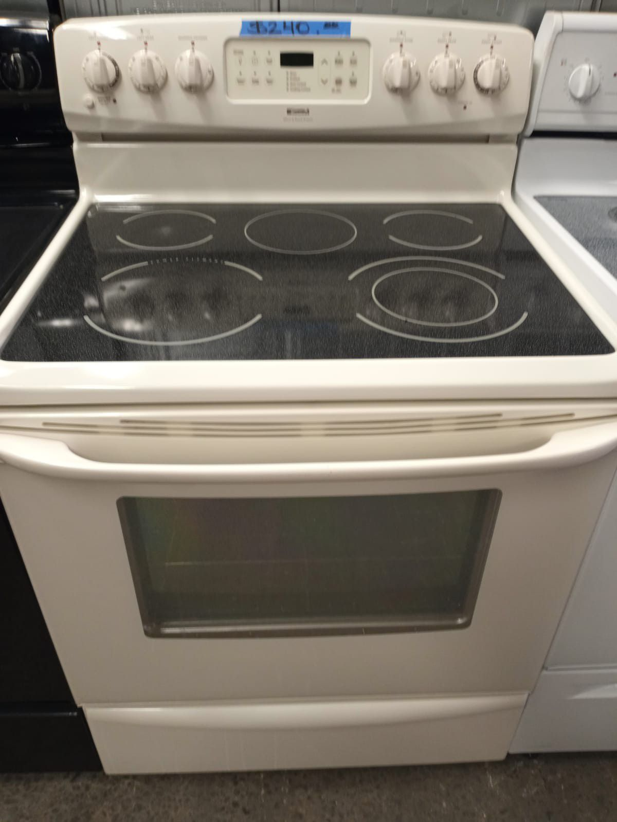KENMORE OFF WHITE ELECTRIC STOVE WORKING PERFECT W/4 MONTHS WARRANTY
