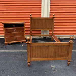 Twin Bed Frame and Dresser for Sale in Woodbridge, VA