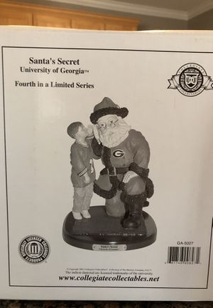 Santa's Secret - collegiate collectible - UGA for Sale in Holly Springs, NC