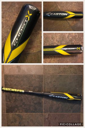 "Easton bat 2018 USA Baseball 2 5/8 Ghost X Youth Bat -10 32"" for Sale in Dixon, CA"