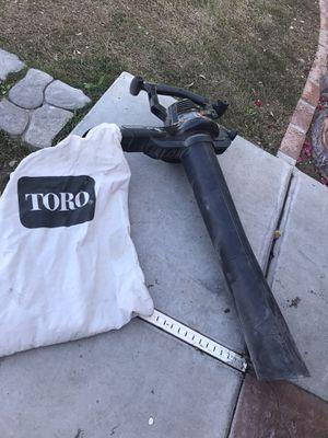 Photo Toro leaf vacuum