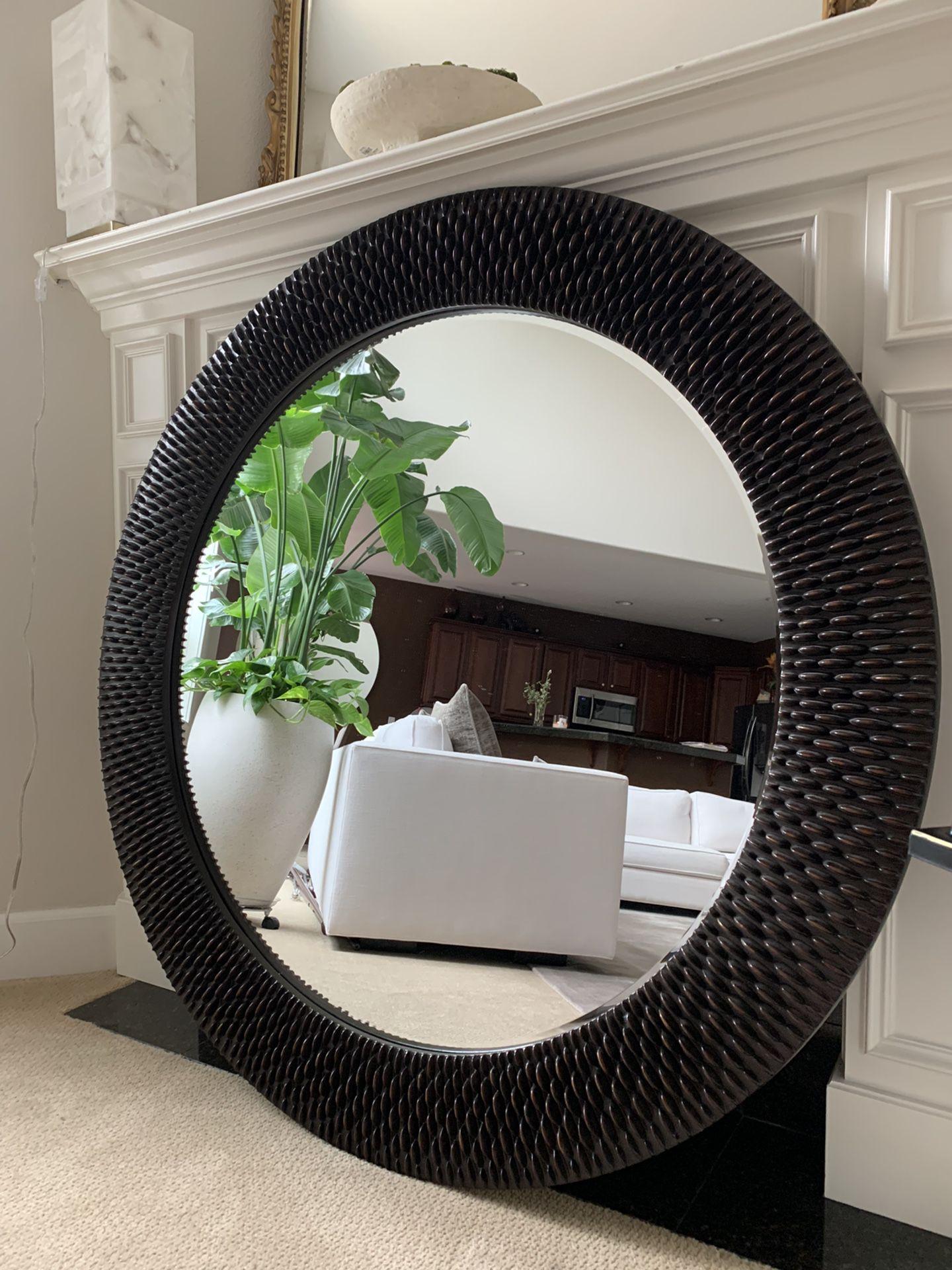 """Bergman mirror 54""""in diameter"""