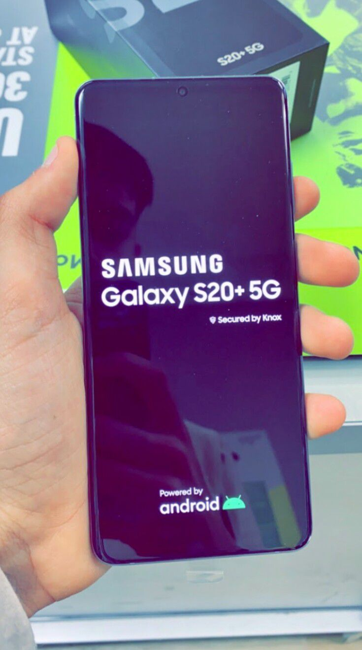 Unlocked Samsung Galaxy S20 Plus 5G, 128gb, Brand New in Box, One Year Warranty!