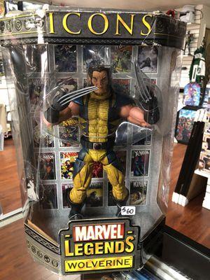 "Wolverine Marvel Legends Icons 12"" Inch Toybiz for Sale in La Habra Heights, CA"