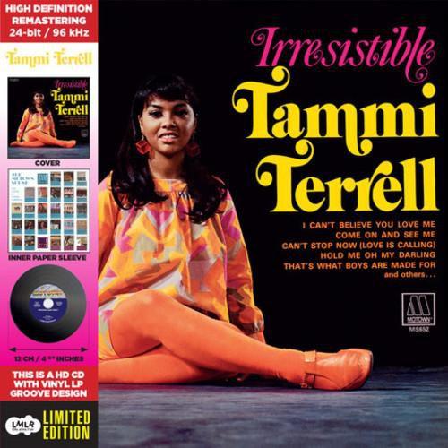 Terrell*Tammi - Irresistible - Deluxe CD-Vinyl Replica [CD]