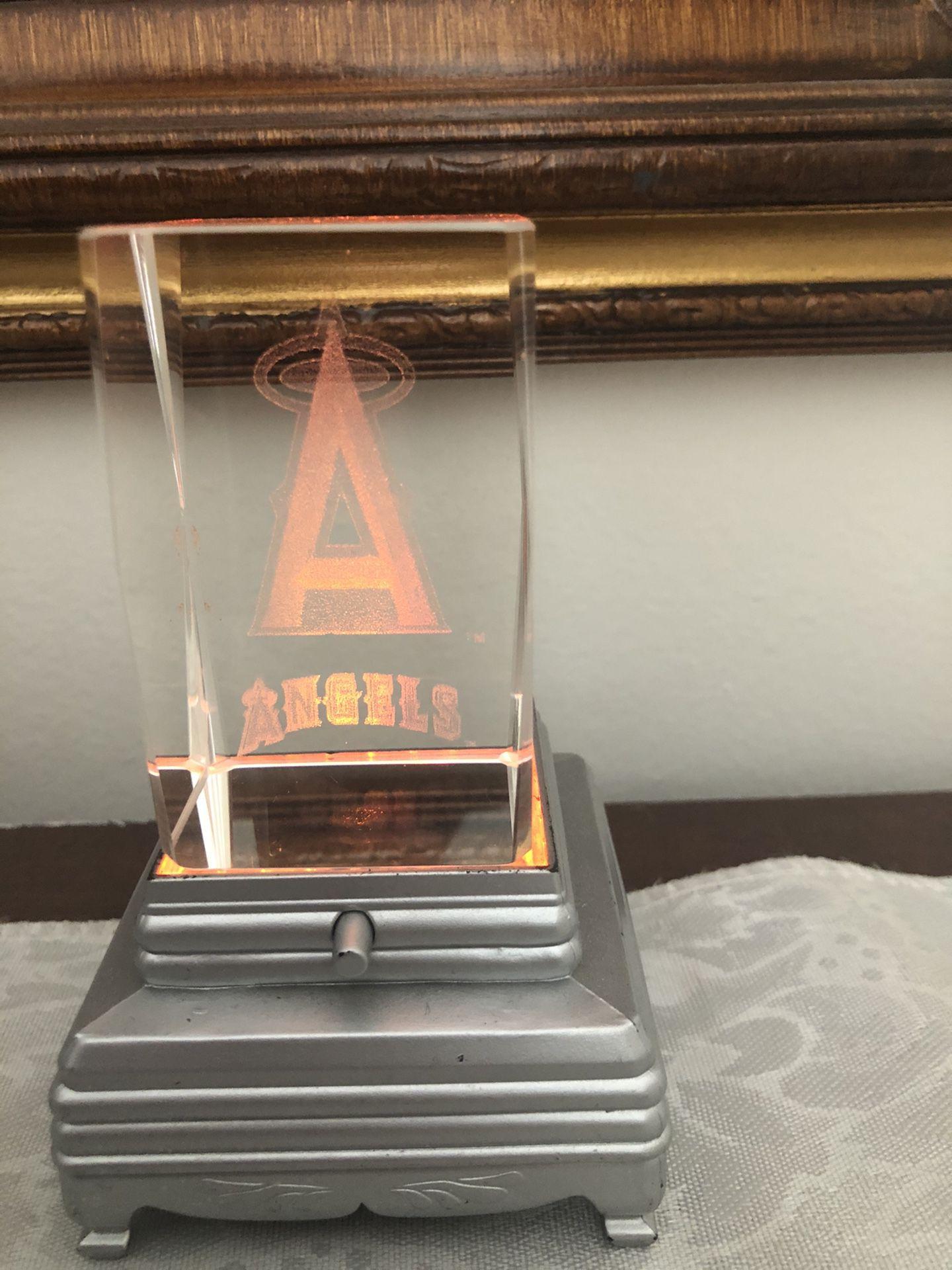Anaheim angels glass light