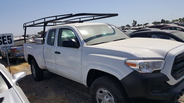 2017 Toyota Tacoma Sr 4 Cylinder White Truck Possible Trades Cash