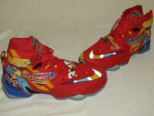 14ddc283248b Nike LeBron 13 XIII Promo Sample 843801-696 EYBL PE Size 12.5 New ...