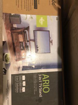 Bayside Furnishings Ario 3-in-1 TV stand, still in box. for Sale in Alexandria, VA