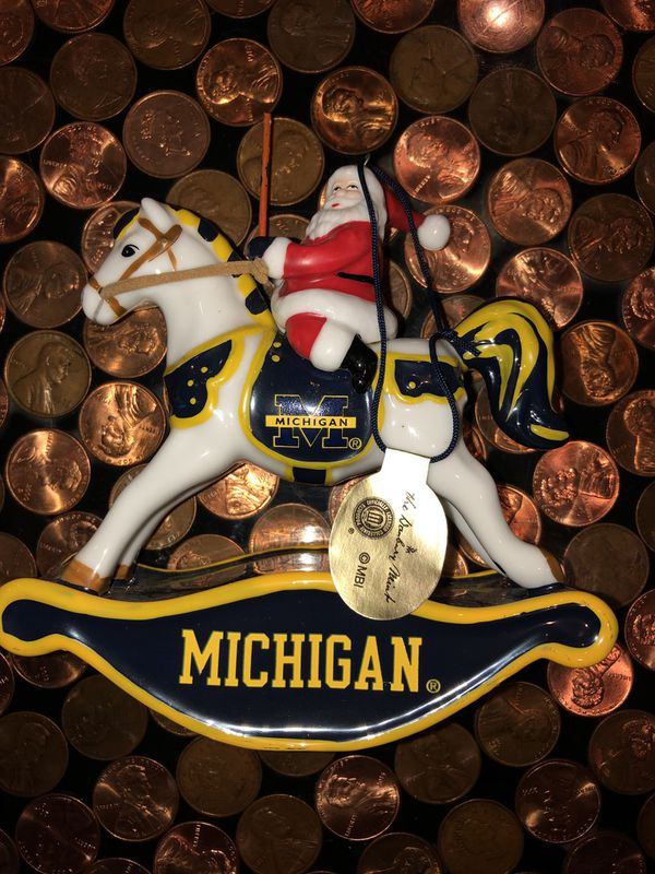 2006 Michigan Wolverines Danbury Mint Ornament for Sale in Allen Park, MI -  OfferUp