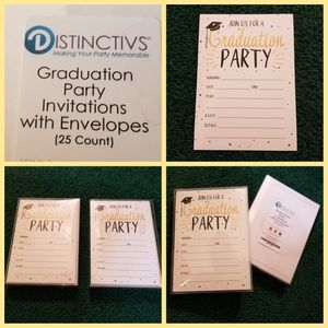 2018 GRAD PARTY invitations for Sale in Pittsburgh, PA