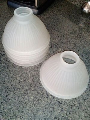 Glass shades for chandelier or fan for Sale in Midlothian, VA