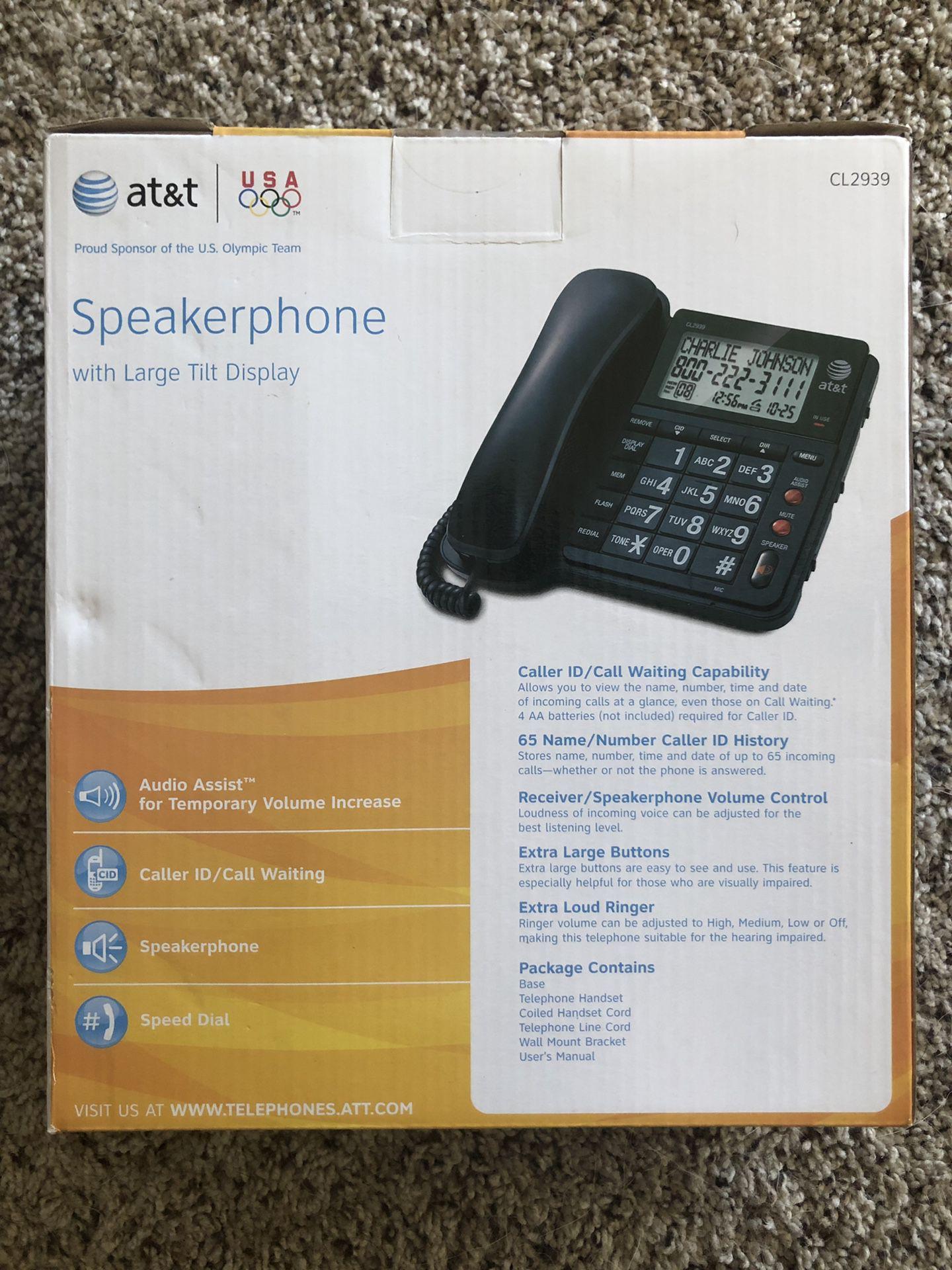 AT&T CL2939 Speakerphone