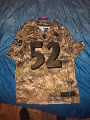 Stitched Ray Lewis NFL Army Jersey for Sale in Silver Spring, MD