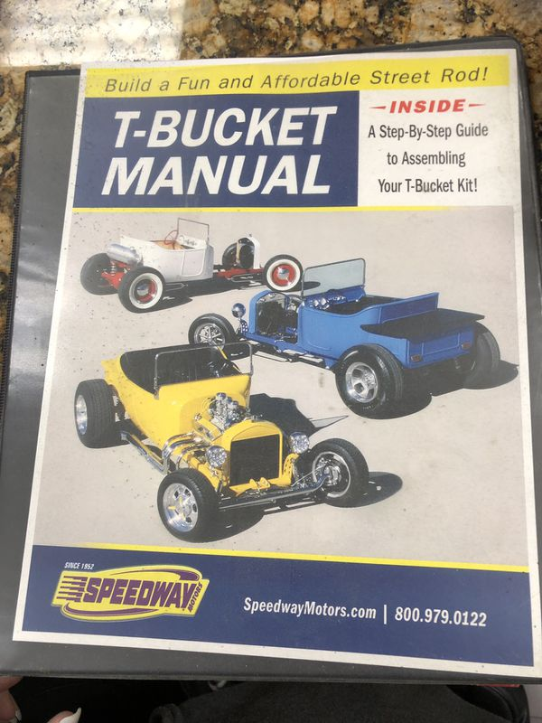 Speedway t-bucket manual for Sale in Sacramento, CA - OfferUp
