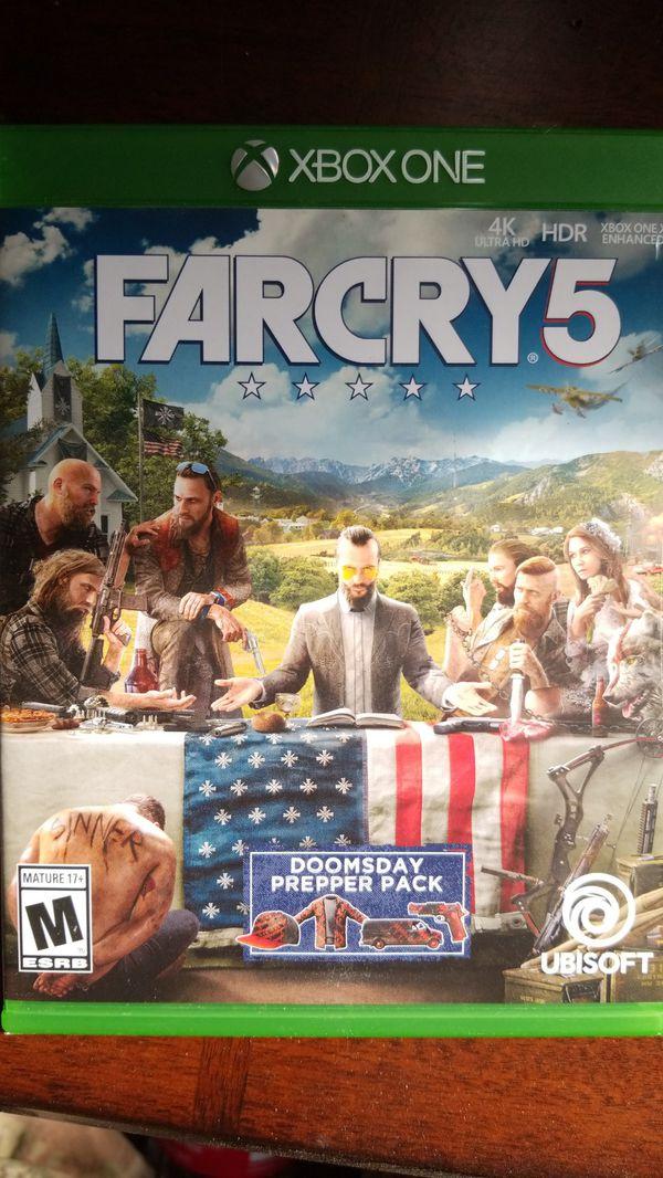 far cry 5 day one edition