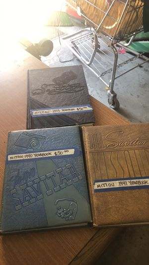 Mizzou yearbooks 1940/1941/1943 for Sale in East Saint Louis, IL