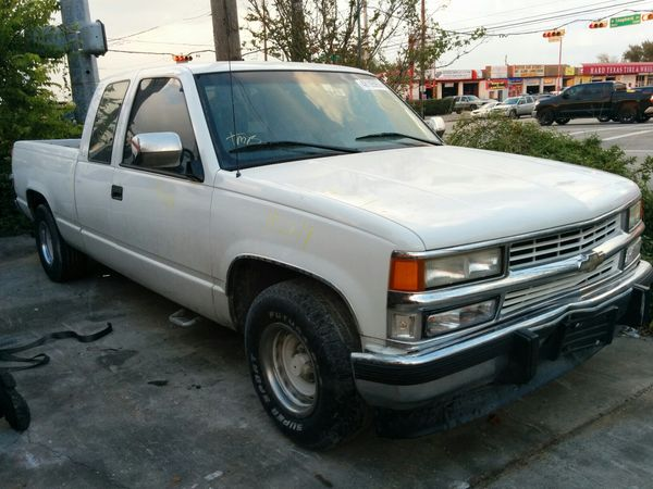 1994 chevy truck for parts for sale in houston tx offerup. Black Bedroom Furniture Sets. Home Design Ideas