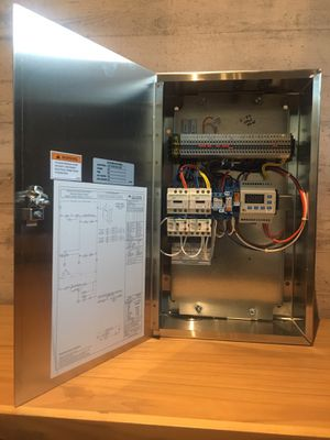 Accurex Commercial Restaurant Ventilation Hood System Electrical Control Panel Ul Listed 380 280 For Sale In Gardena Ca Offerup
