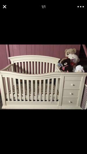 Crib with Connected Changing Table for Sale in Philadelphia, PA