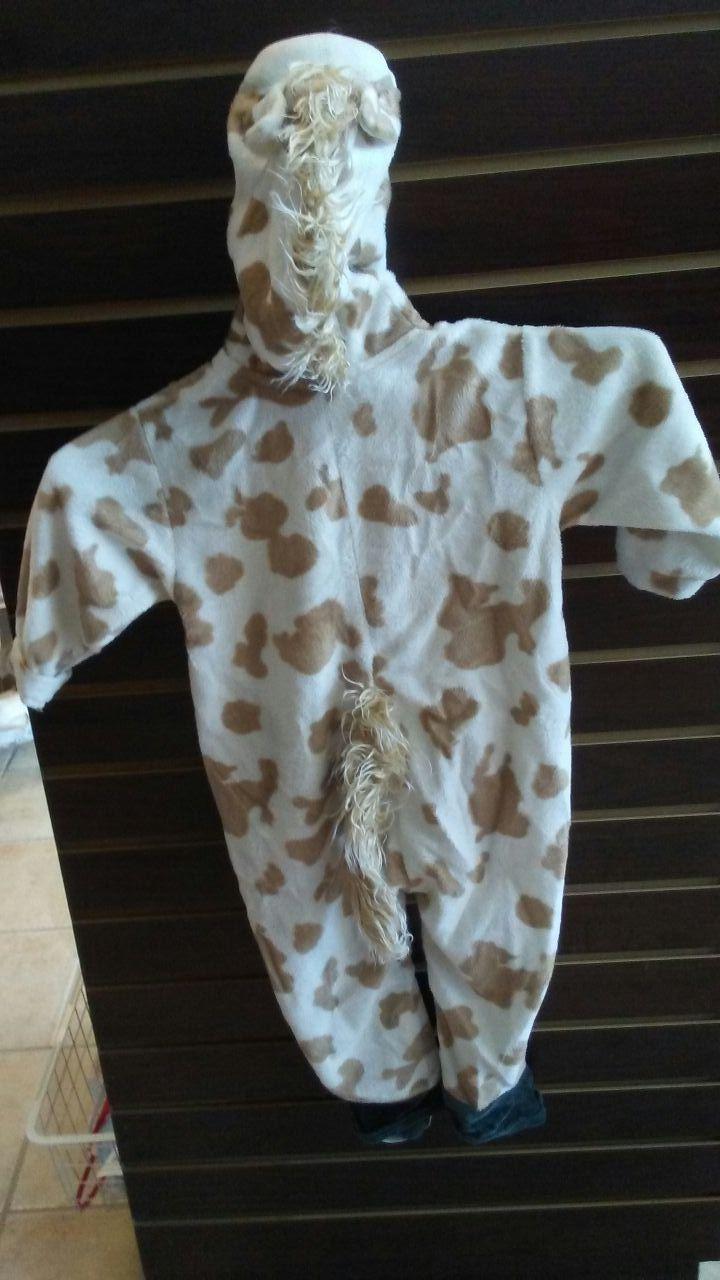 Leptop giraffe baby costume