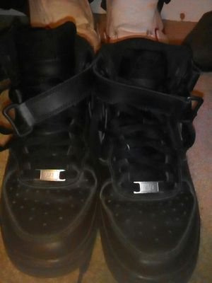 Black AF1s size 7 for Sale in San Francisco, CA