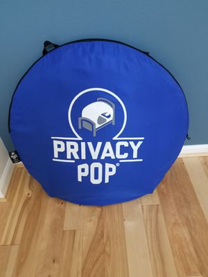 privacy pop up tent for Sale in Maple Valley, WA