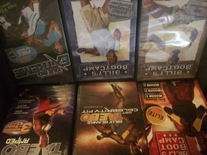 Billy Blanks workout videos for Sale in Dallas, TX