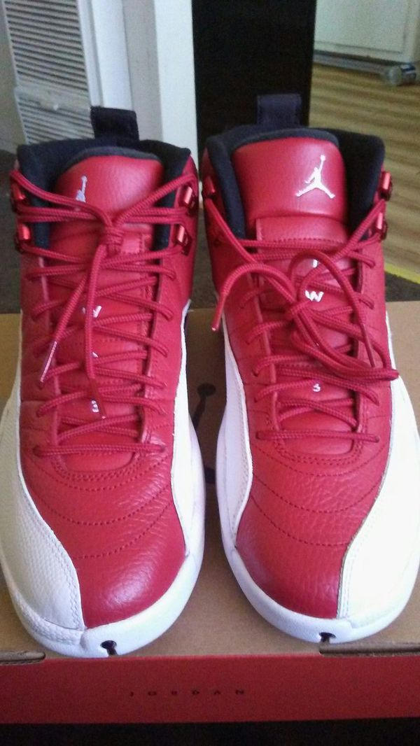 official photos a3da6 397e4 BRAND NEW AIR JORDAN RETRO 12 SIZE 8 OFFER UP NO LOWER THEN 190$ WITH BOX  for Sale in Whittier, CA - OfferUp