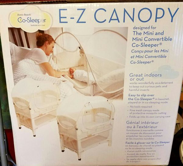 E Z Canopy By Arm S Reach Co Sleeper For Sale In Mount Vernon Wa