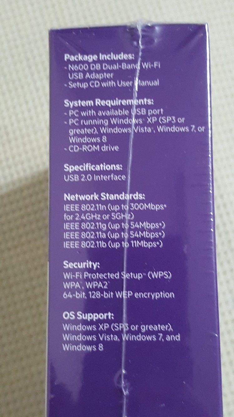 Belkin WiFi USB Adapter N600