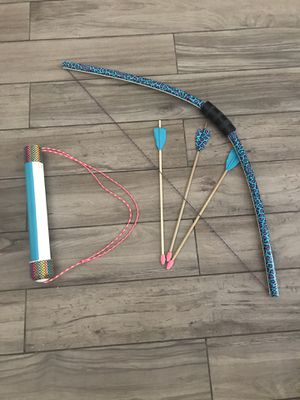 Homemade bow and arrow set for Sale in Mission Viejo, CA