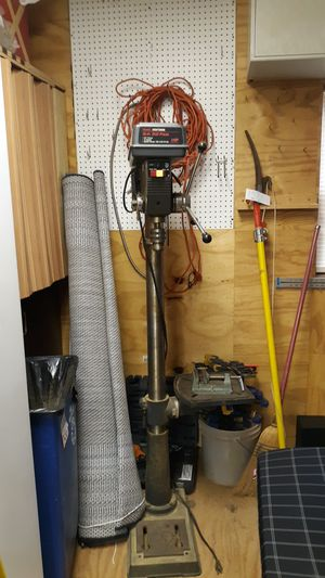 Photo Craftsman 15 inch drill press